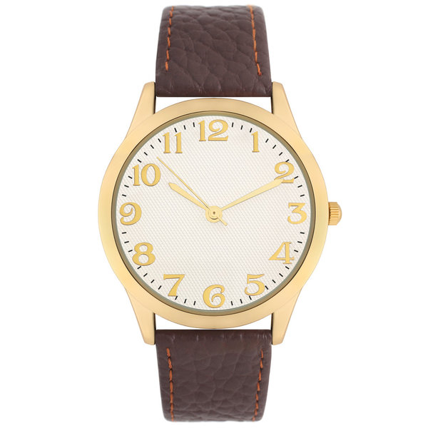 Unisex Gold Watch